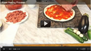 Pizza Dressing Process
